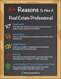 5 a reasons hire a real estate pro infographic keeping