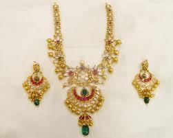 gold haram sets gold necklace diamonds nakshi neckset diamonds