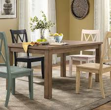 homelegance janina rectangular dining table natural finish pine