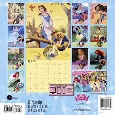 disney desk calendar 2017 disney princess wall calendar 2017 day dream 9781629056937