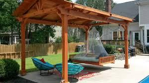 pergola amazing covered pergola outdoor living room design ideas