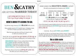Best Wedding Programs Templates For Wedding Programs Best Template Examples