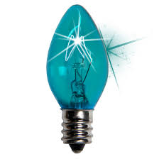 c7 christmas light bulb c7 twinkle teal christmas light bulbs 7