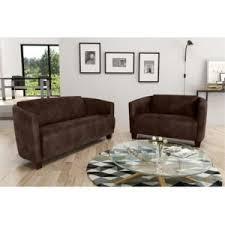 canap brun modern sofa canapé 3 2 tobago 14 brun sofa divan marron