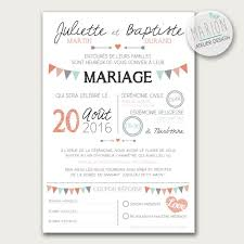 texte carte mariage model invitation mariage photographie