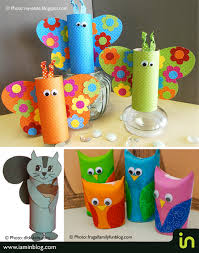 paper roll kids crafts i am in je suis in