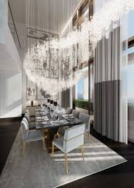dramatic dining room with feng shui decor inspiration also grand
