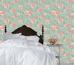 20 Best Removable Wallpapers Peel by Haute Couture Removable Wallpaper Dainty Roses Peel U0026 Stick