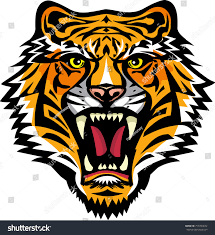 tigers sabertoothed tiger stock illustration 756394672