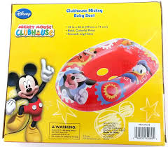 amazon com disney mickey mouse inflatable kids float baby boat