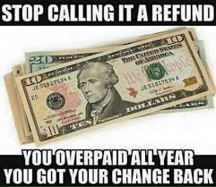 Income Tax Meme - brutal meme reveals no such thing as a tax refund