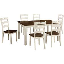 ashley dining room furniture set signature design by ashley woodanville dining room table set