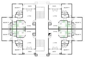 8 unit apartment building plans featured apartment floor plans www boyehomeplans com