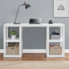 altra home decor altra furniture parsons white desk 9318596com the home depot
