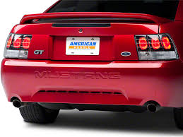 99 04 mustang sequential tail light kit axial mustang black euro tail lights 49026 99 04 all excluding
