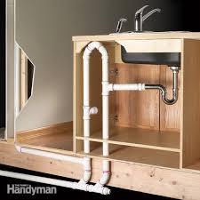 kitchen island sink plumbing an island sink family handyman