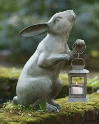 139 best rabbit sculptures statues images on