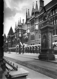 the royal courts of justice strand london 1970 seen from the