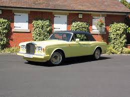 yellow rolls royce 1920 used rolls royce corniche cars for sale with pistonheads