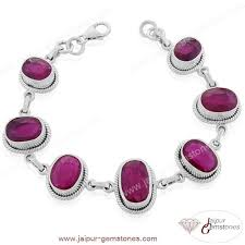 silver necklace with gemstone images Jaipur gemstones wholesale silver jewelry india indian jewelry jpg