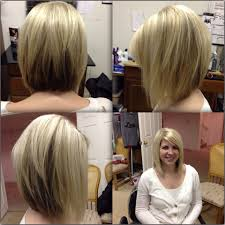 medium length bob hairstyle pictures angled bobs with bangs razor cut bob razor cuts and platinum blonde