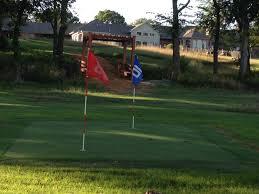 backyard golf course grass home outdoor decoration