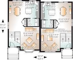 semi detached floor plans lovely semi duplex house plans 4 astonishing small detached