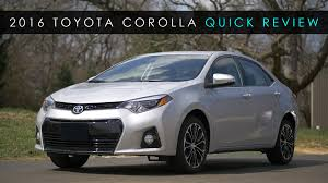 2016 toyota corolla review review 2016 toyota corolla the appliance