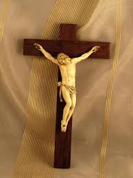 wooden crucifix antique dieppe ivory wood crucifix 17th 18th century from