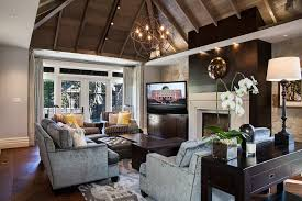 light gray walls with wood trim dining room contemporary with