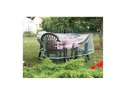 housse de protection pour canapé de jardin housse table ronde économique