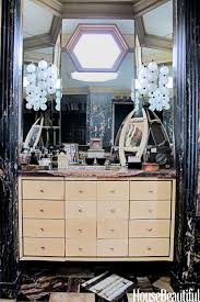 kelly wearstler s bathroom vanity is eccentric funky and a little kelly wearstler s bathroom vanity is eccentric funky and a little
