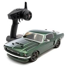 vaterra mustang vaterra 1967 ford mustang 1 10 scale rtr electric rc car with