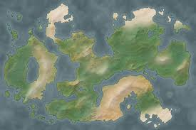 Blank Fantasy Map Generator by Tg Traditional Games
