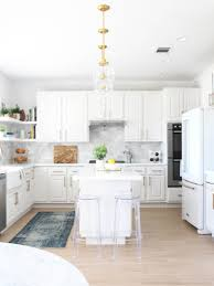 cost to paint kitchen cabinets white before after kitchen spray paint chardonnay