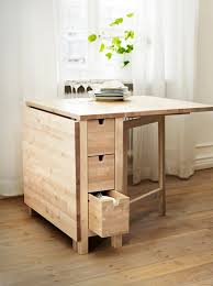 table pliante de cuisine designs créatifs de table pliante de cuisine