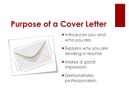 purpose of cover letter cover letter cv length of cover letter