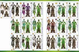 power rangers super megaforce keys green lavenderranger