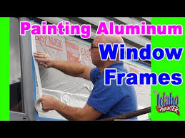 Painting Aluminum Screen Enclosures by How To Paint Metal Or Aluminum Windows Painting Aluminum Windows