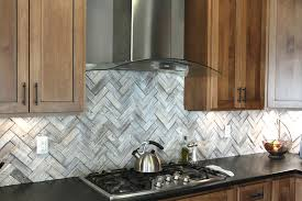 kitchen backsplash ideas with white cabinets and dark countertops