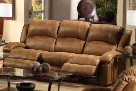 sofa breathtaking all leather reclining sofa power recliner best