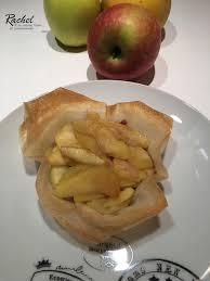 cuisiner la feuille de brick tarte aux pommes légère avec des feuilles de bricks et sa