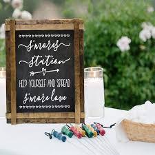 diy wedding signs smores bar sign decals smores station wedding sign smores station r