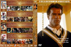 arnold schwarzenegger collection dvd covers and labels