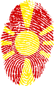 Macedonian Flag Macedonia Flag Fingerprint Picpng