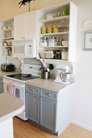 Pretend Kitchen Furniture Remodelaholic Gray And White Kitchen Makeover With Hexagon Tile
