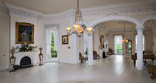 Plantation Style Home Decor The White Ballroom In The Nottoway Plantation Mansion On The Great