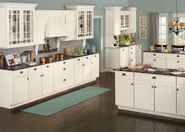 furniture wonderful armstrong cabinets for kitchen furniture cozy wooden kitchen armstrong cabinets in white with dark handles and contertop matched with wooden floor