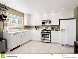 plain white tile countertops kitchen wooden collection use gray