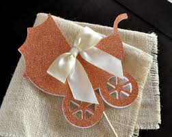 carriage cake topper etsy